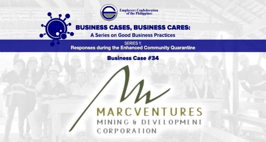 Best Practices of Marcventures Mining and Development Corporation
