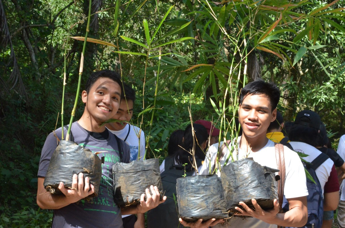 Marcventures supports school org's bamboo outreach program
