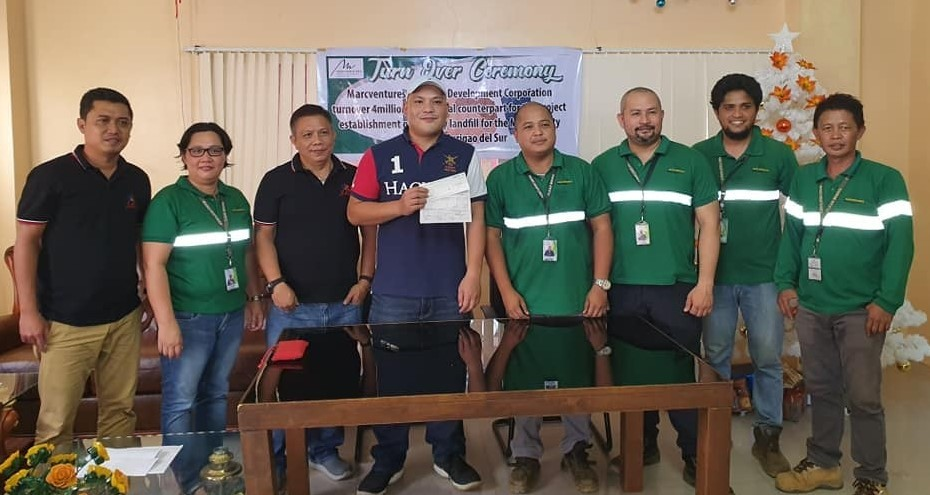 MMDC donates P4M for Carrascal sanitary landfill project