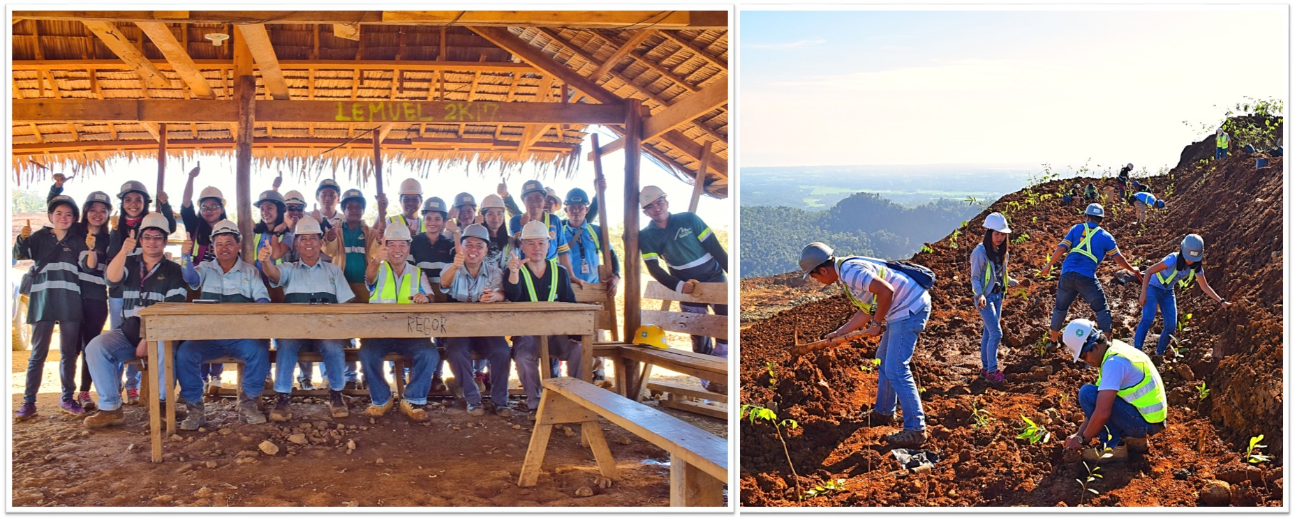 Marcventures employees see planting trees as a moral obligation to future generations