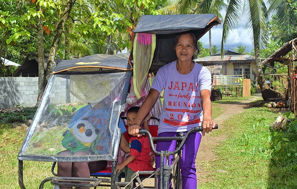 Meet Nanay Cita, the grandma trike driver