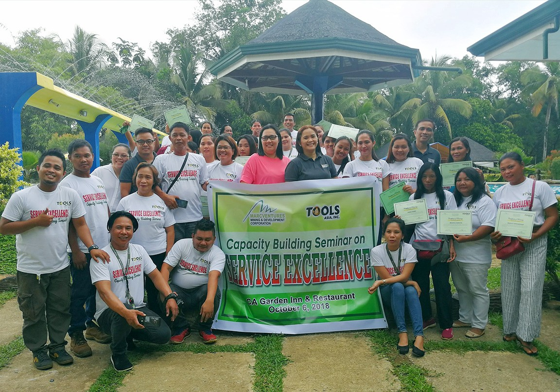 Bamboo association completes service excellence training