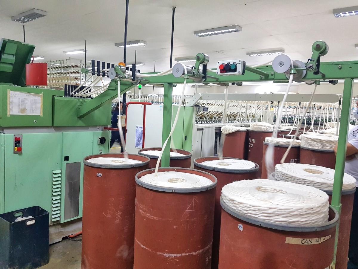 Marcventures Com Rel Team visits bamboo textile facility