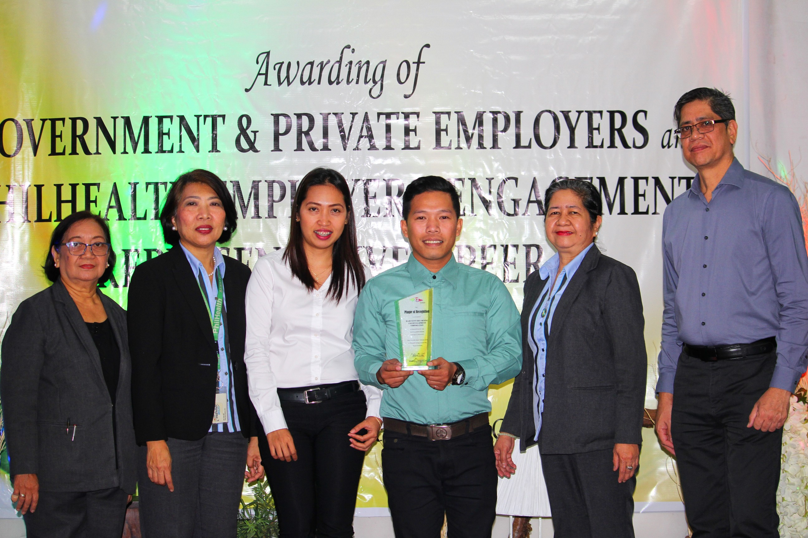 Marcventures is Caraga's Top Remitting and Top Reporting Private Employer